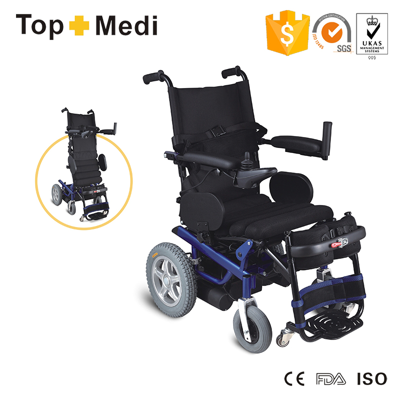 TEW139 Standing Electric Wheelchair  sc 1 st  Topmedi & wheelchairelectric wheelchairpower wheelchairfolding electric ...